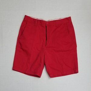 ST Johns Bay Men Red Khaki Shorts